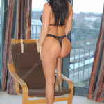 Annabelle one of our Czech Girls by window. Escorts GU21