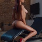 Leia naked plus red shoes escorts close to you