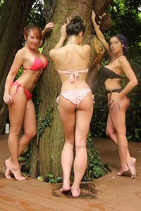 Surrey escorts near Woking, bikini time.