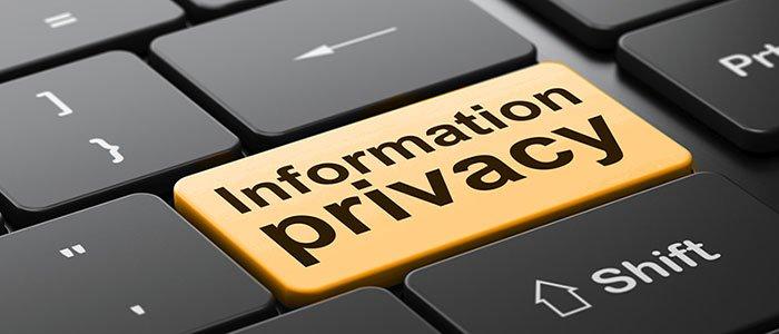 Keyboard return - privacy info